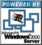 Powered by Microsoft Windows 2000 Server